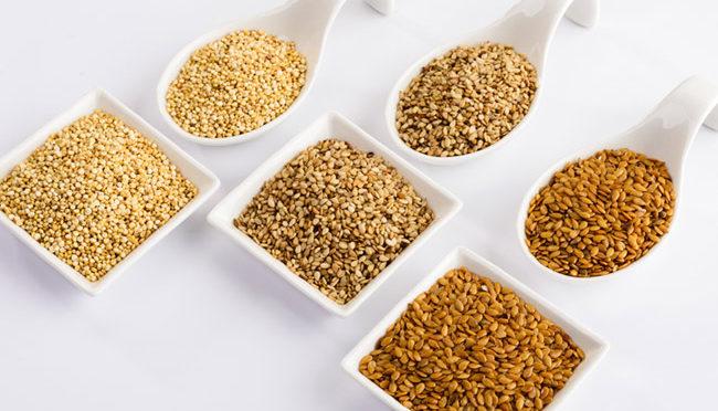 Las propiedades de las semillas más de moda